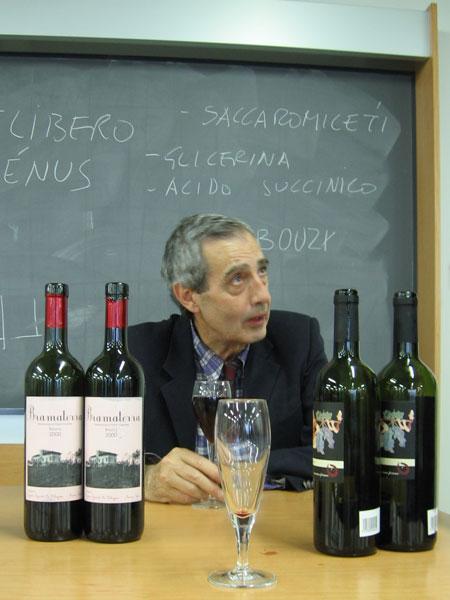 Analisi sensoriale del vino